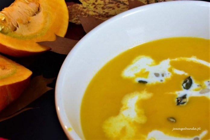 zupa żółta z dyni