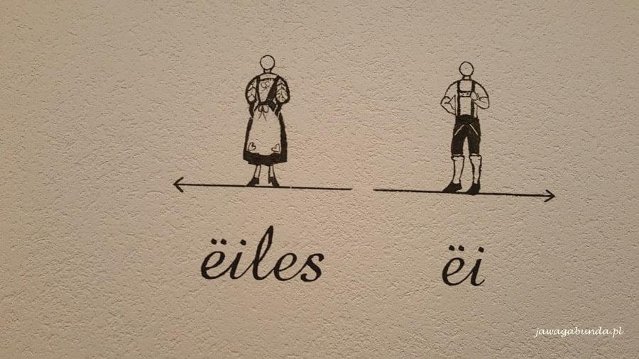 napisy w języku landyńskim
