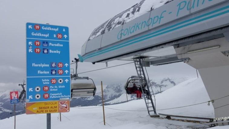 oznaczone trasy narciarskie