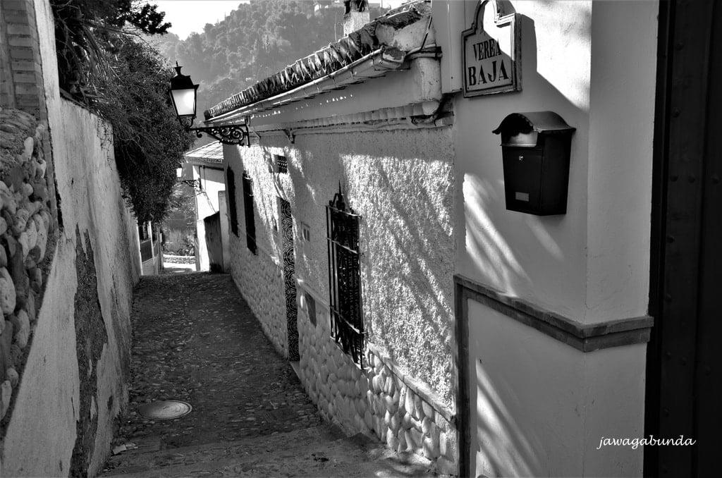 uliczka w Granadzie