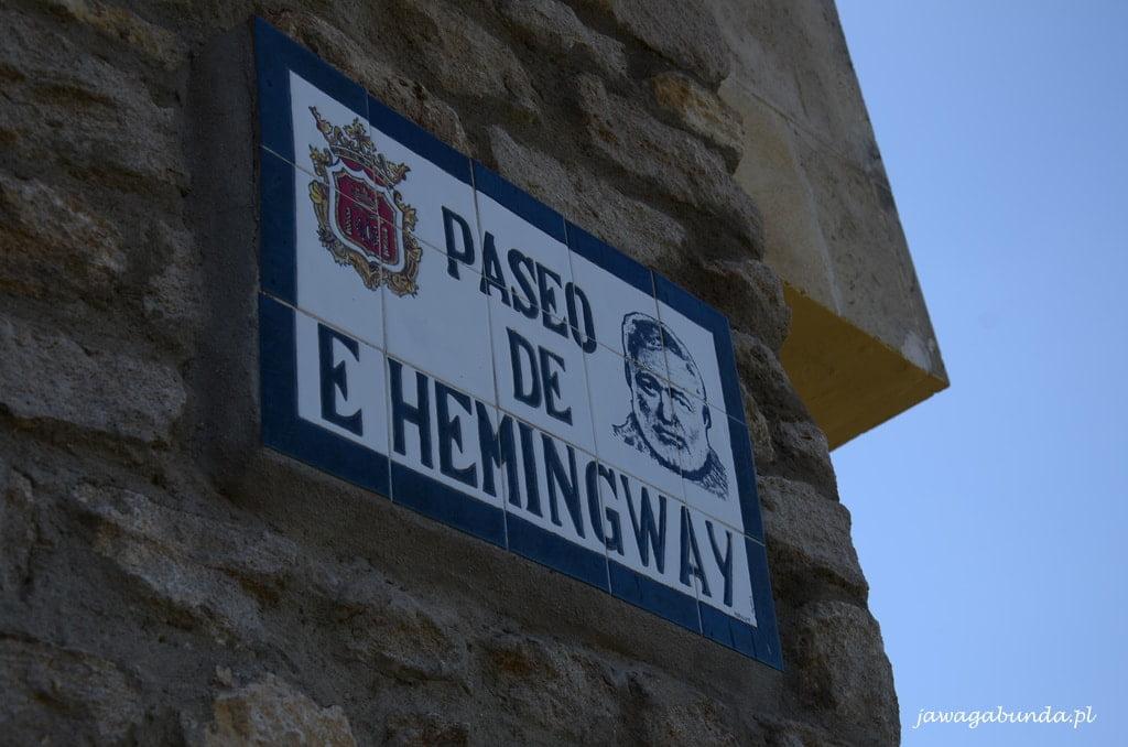 ulica Hemingwaya