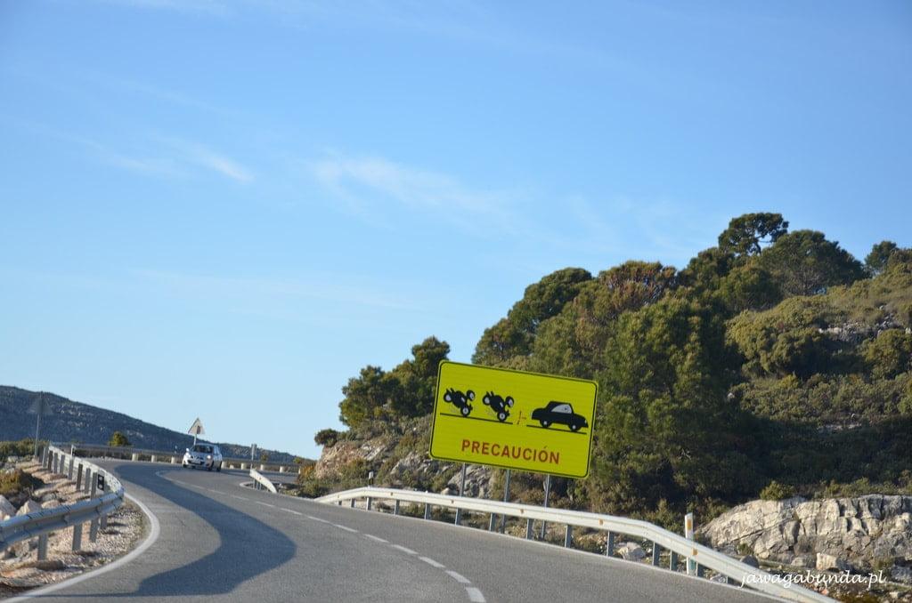 droga do miasta Ronda