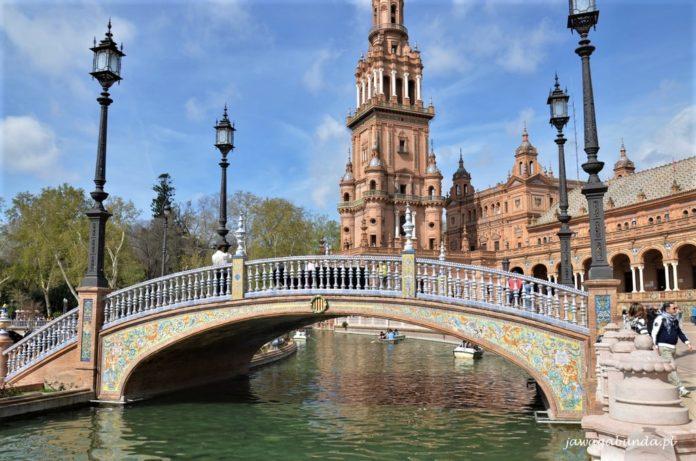Sewilla Plac Hiszpański