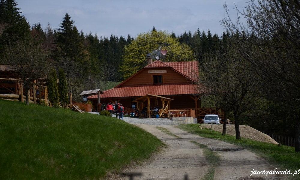 Górskie schronisko w czeskich beskidach