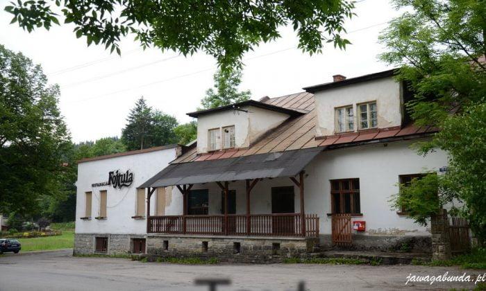 dawna restauracja Fojtula w Wiśle - czarne