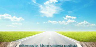 otwarta książka z drogą i napisem