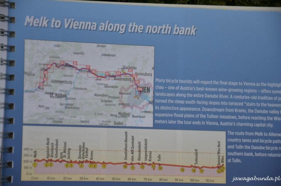 mapa z opisem