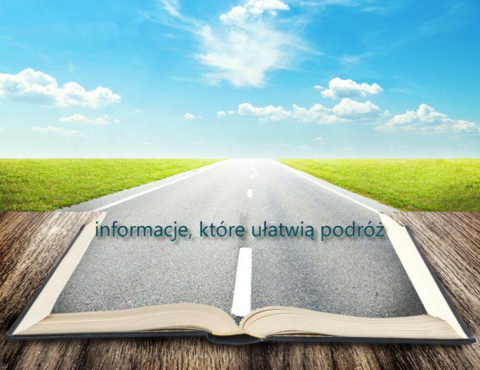 otwarta książka z informacjami