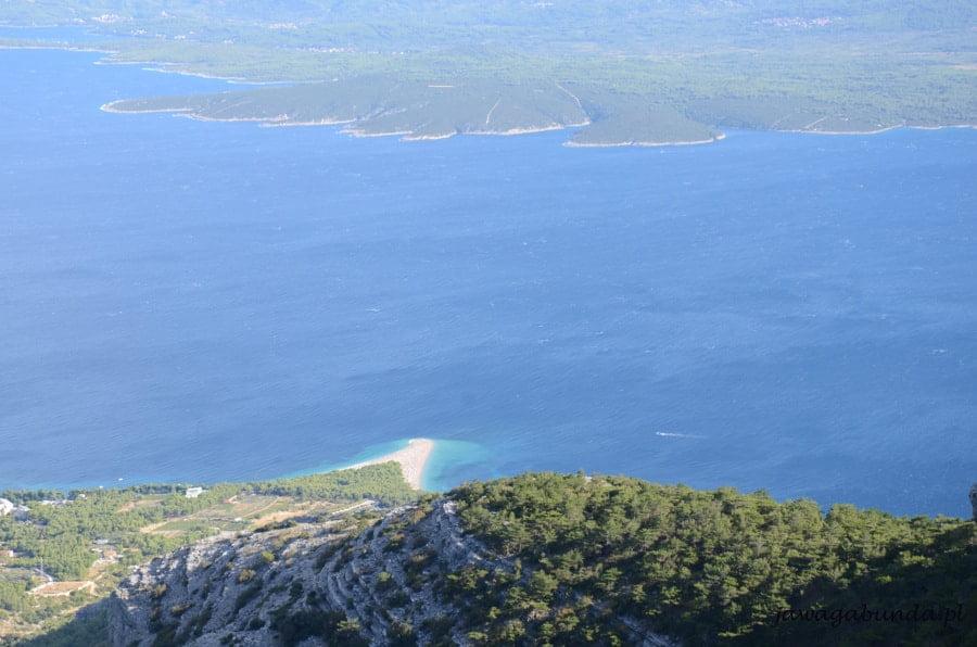złoty rat - wąski półwysep w Chorwacji