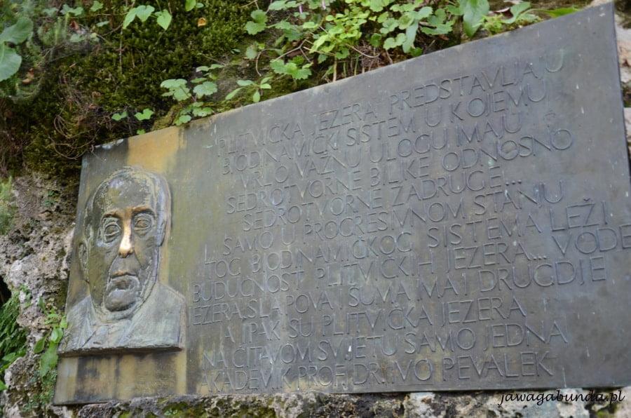 tablica informacyjna i twarz człowieka