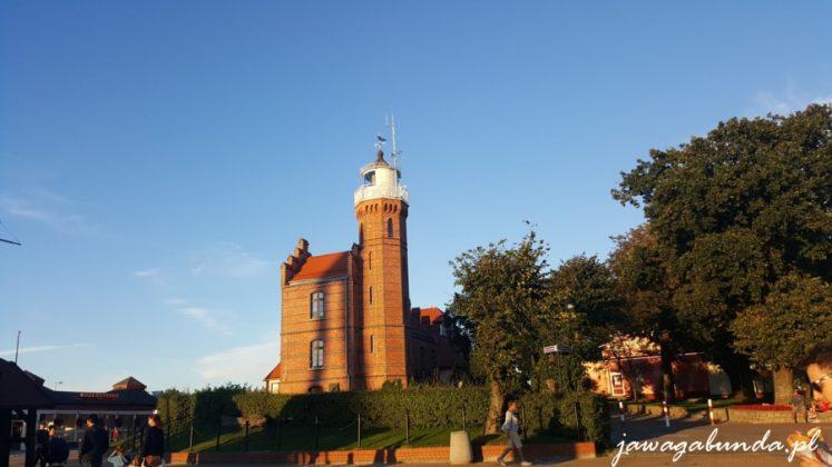 budynek latarni w Ustce
