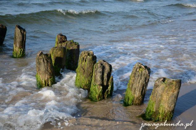 falochron w morzu