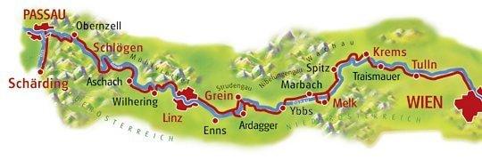 Donauradweg - fragment do przejechania