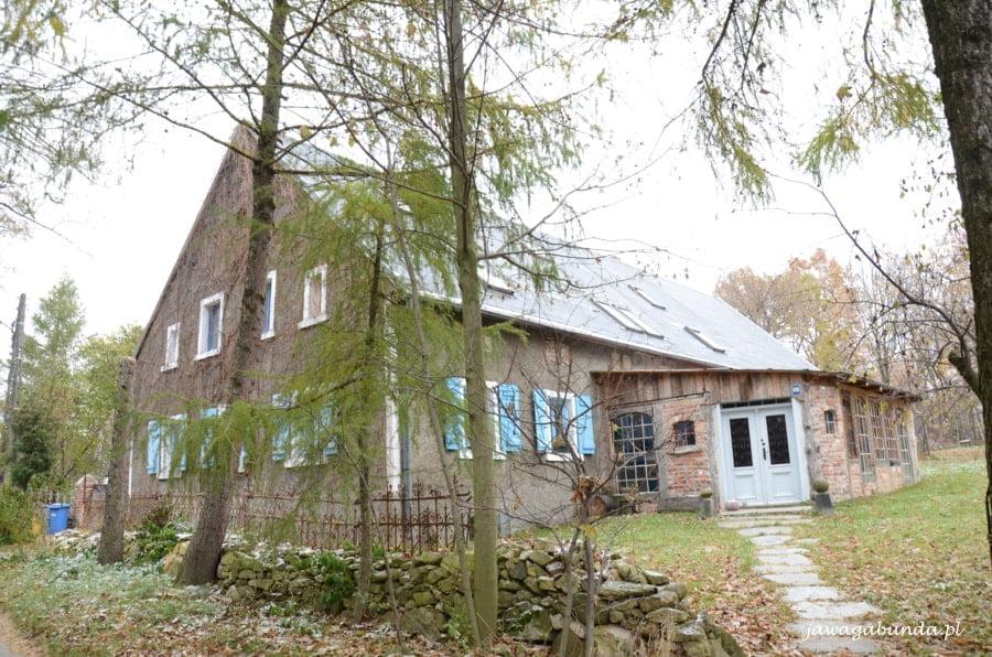 dom za drzewami