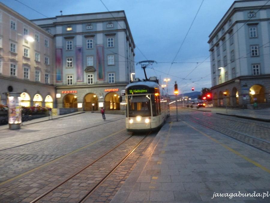 tramwaj nr 50 w Linz