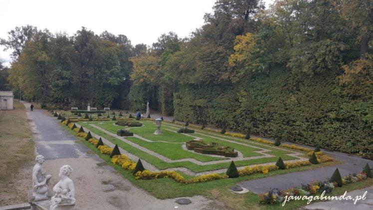 amorki i zadbane trawniki w ogrodzie