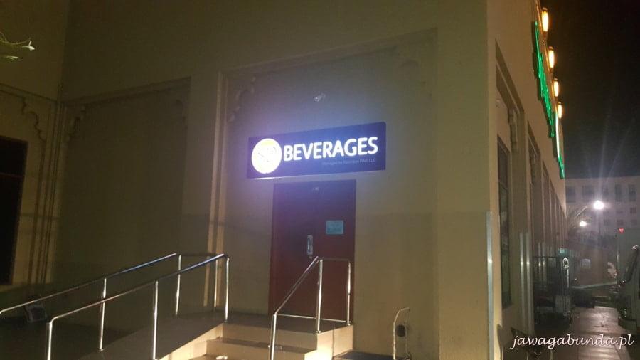 beverages napis na sklepi