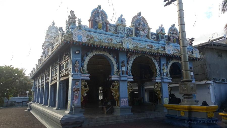 hinduska kolorowa świątynia