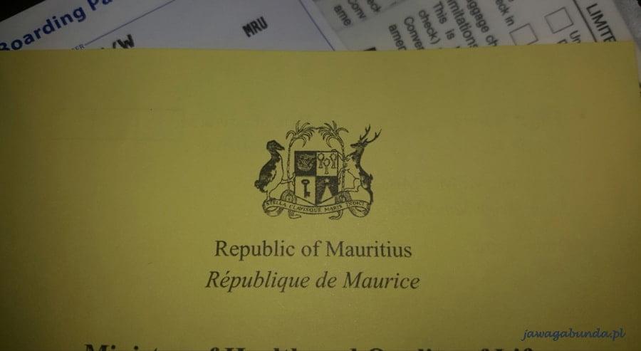 godło mauritiusa