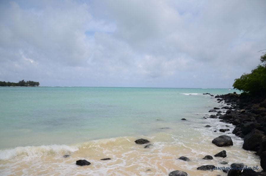 morze o turkusowej barwie