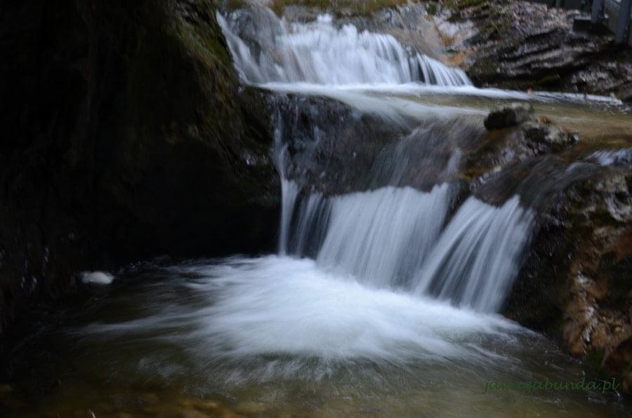 wodospad w Janosikowych Dierach