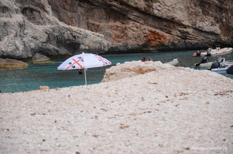 plaża i parasol