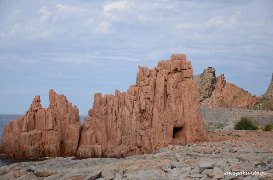 czerwone skały