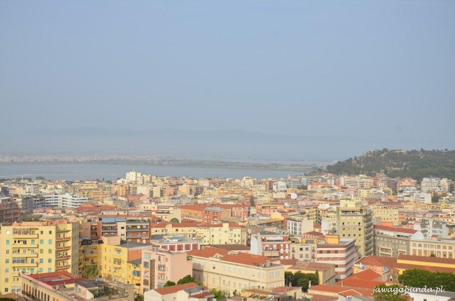 widok na miasto z góry