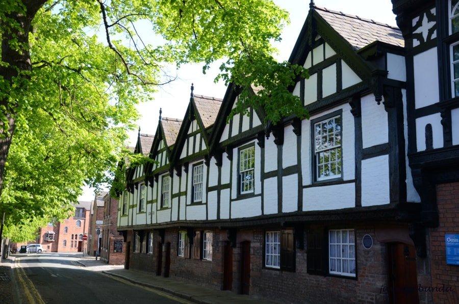 budynki średniowieczne