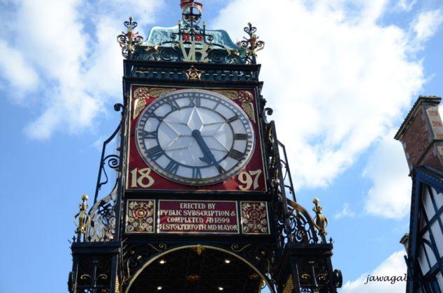 zegar z 1897 roku w Chester