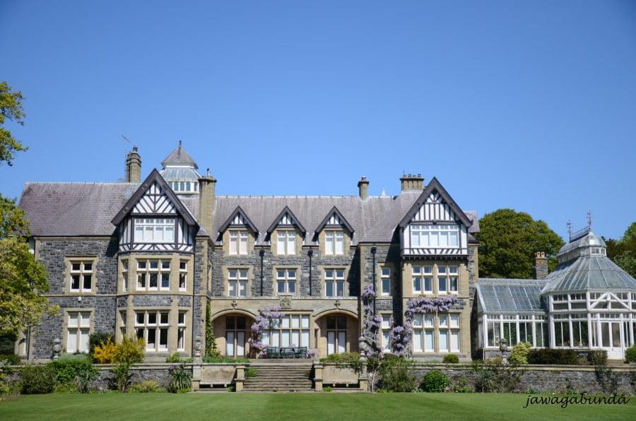 duży dom w pięknym ogrodzie
