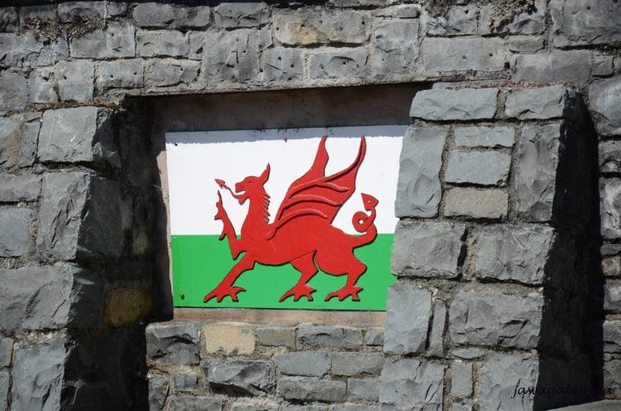czerwony smok symbol Walii