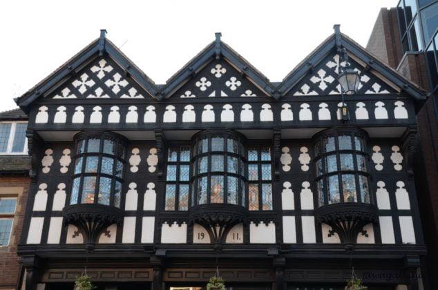 fragment średniowiecznego domu