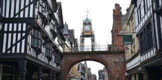 ulica w Chester