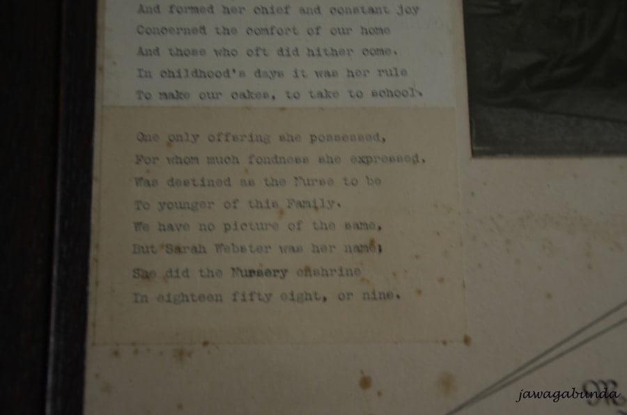 wiersz dla niani