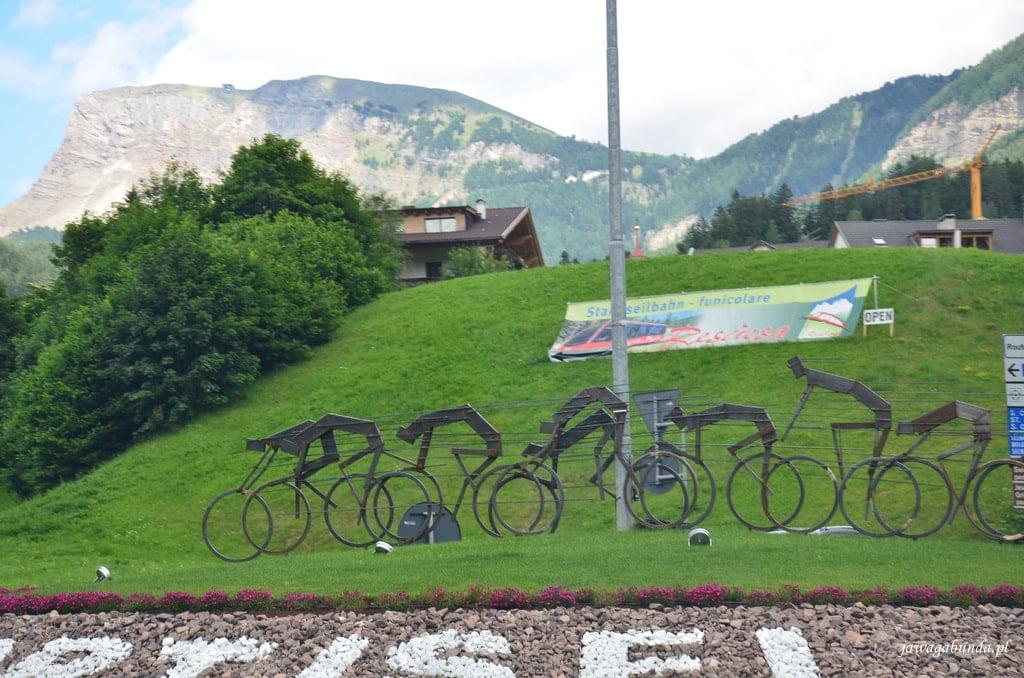 symbole metalowe rowerów