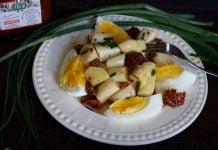 szparagi sałatka