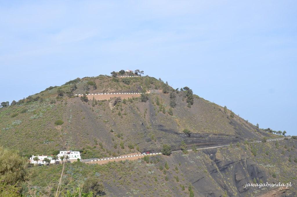 szczyt góry stożek wulkaniczny