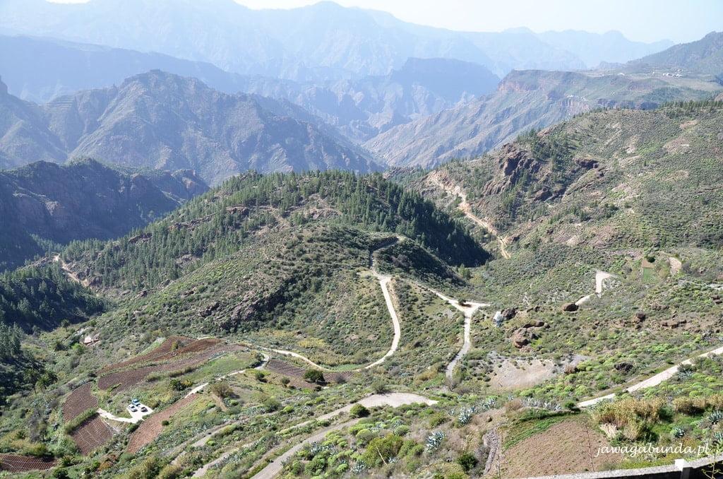 drogi polne wśród gór