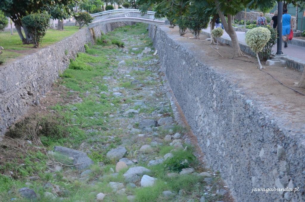 wyschnięte koryto rzeki