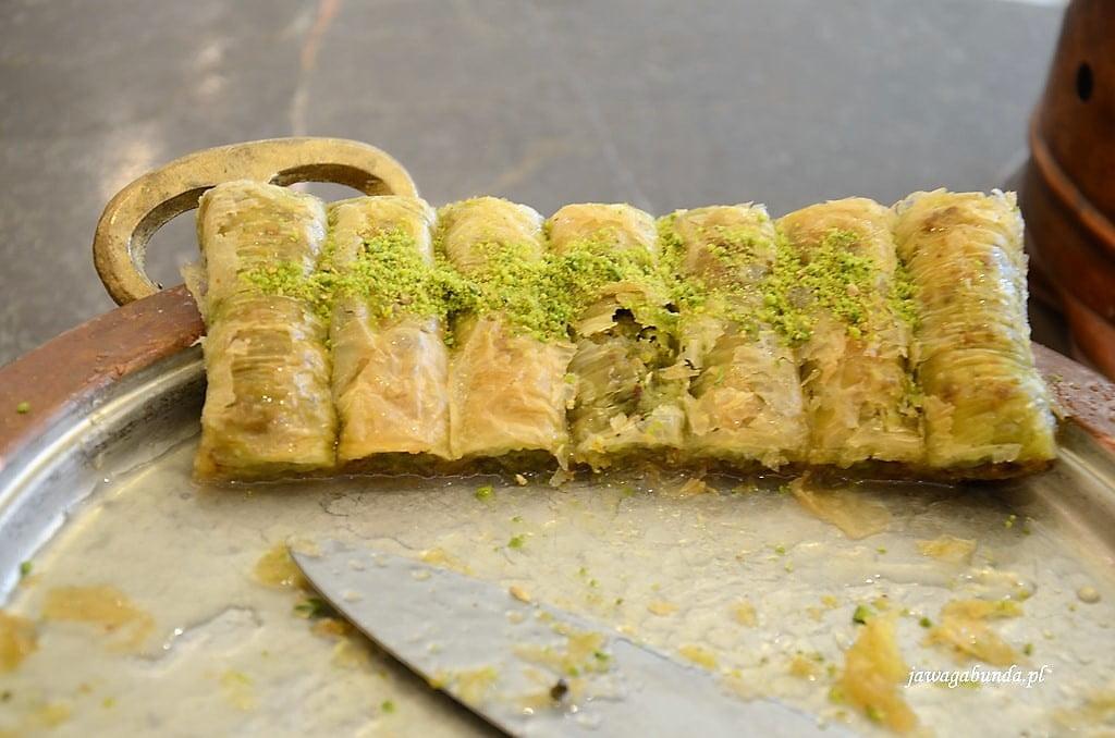 ciasto tureckie baklawa