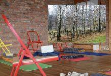 sala do ćwiczeń jogi