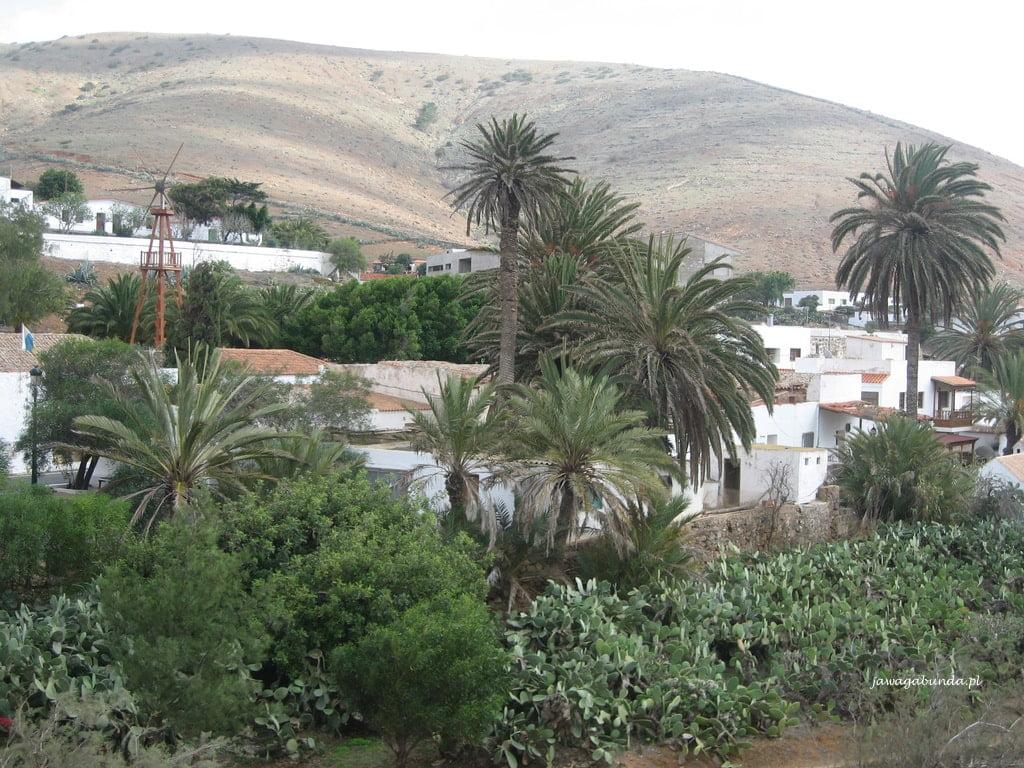 małe miasteczko na Fuerneventurze