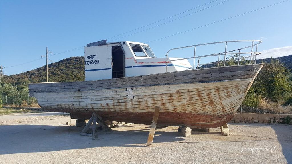 łódka do remontu