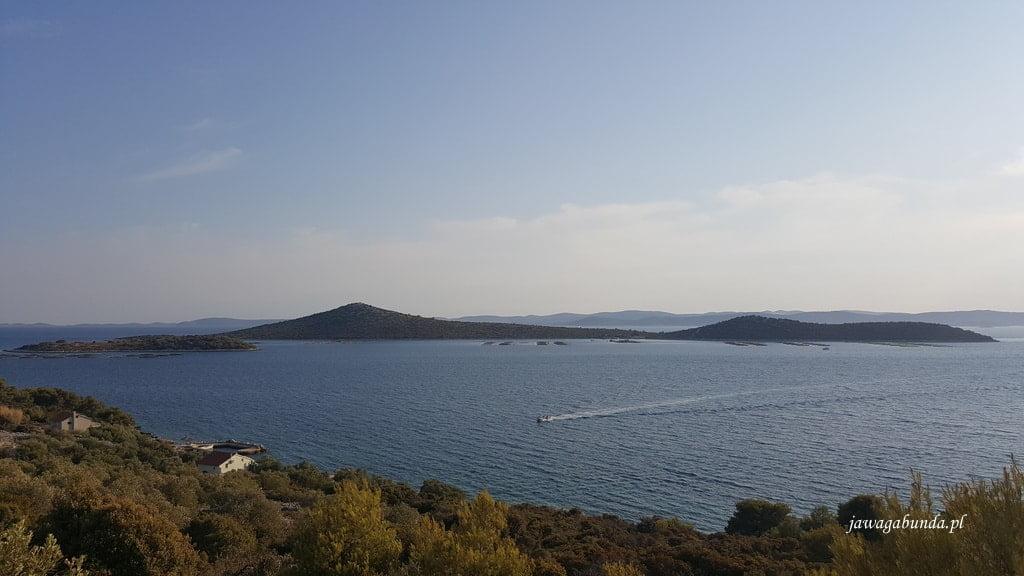 morze i wyspy archipelagu Kornati