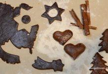 Pierniki czekoladowe upieczone i cisto na pierniki