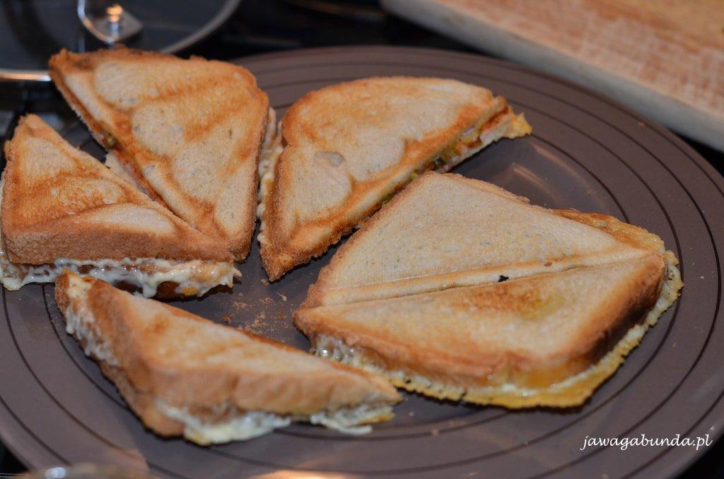 upieczone tosty