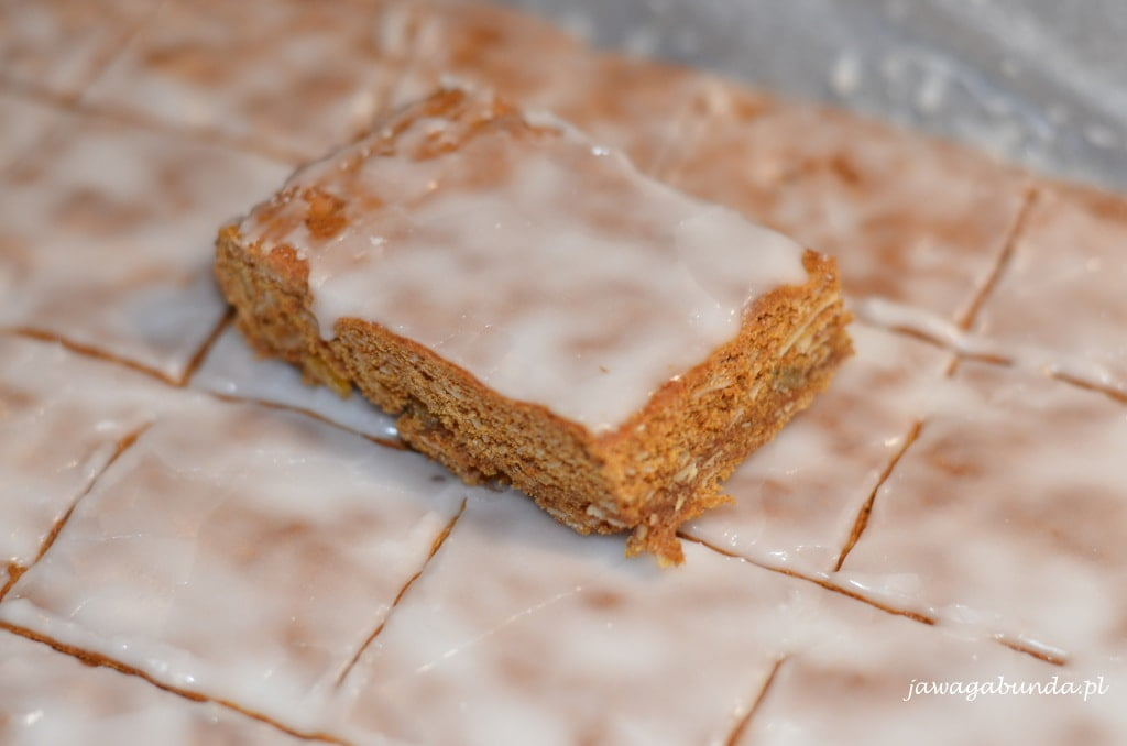 ciasto polane lukierem