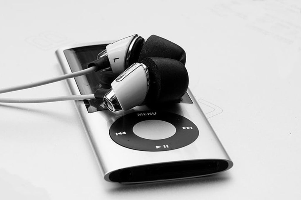 odtwarzacz MP 3 i słuchawki