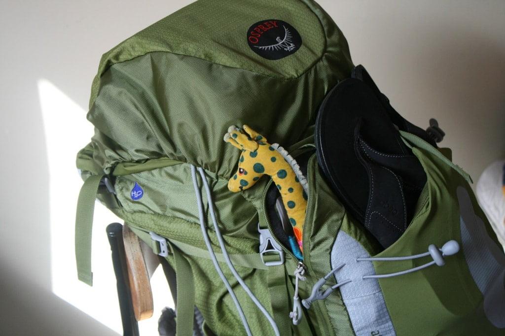 plecak firmy Osprey